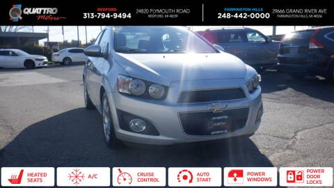2012 Chevrolet Sonic for sale at Quattro Motors 2 in Farmington Hills MI