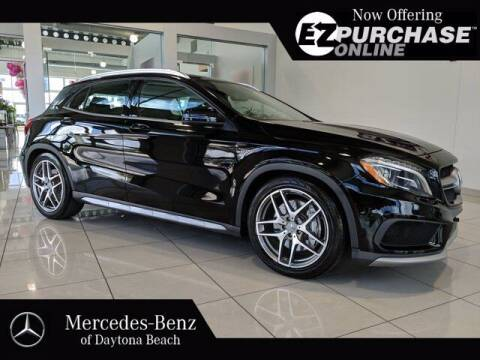 2015 Mercedes-Benz GLA for sale at Mercedes-Benz of Daytona Beach in Daytona Beach FL