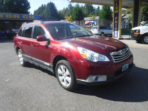 2012 Subaru Outback for sale at Brooks Motor Company, Inc in Milwaukie OR