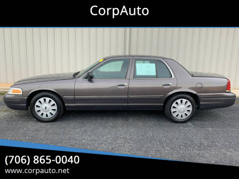 2007 Ford Crown Victoria for sale at CorpAuto in Cleveland GA