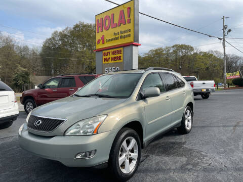 2006 Lexus RX 330 for sale at No Full Coverage Auto Sales in Austell GA