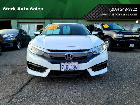 2016 Honda Civic for sale at Stark Auto Sales in Modesto CA