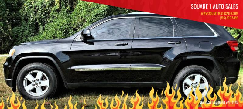 2012 Jeep Grand Cherokee for sale at Square 1 Auto Sales in Commerce GA