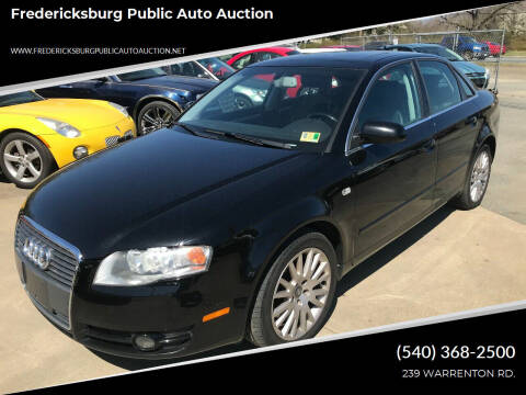 2006 Audi A4 for sale at FPAA in Fredericksburg VA