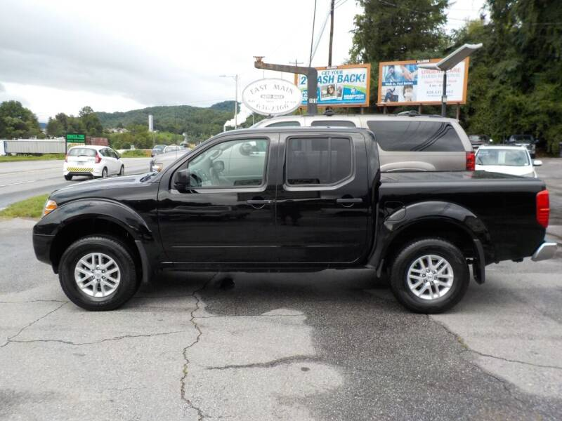 2015 Nissan Frontier for sale at EAST MAIN AUTO SALES in Sylva NC