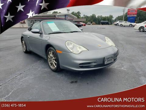 2004 Porsche 911 for sale at CAROLINA MOTORS in Thomasville NC
