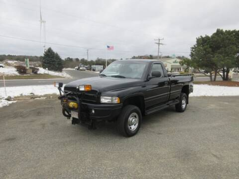 1998 Dodge Ram Pickup 2500 for sale at Millbrook Auto Sales in Duxbury MA