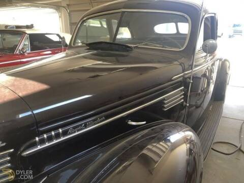 1939 Chrysler Windsor for sale at Classic Car Deals in Cadillac MI