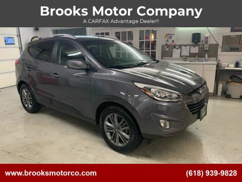 2015 Hyundai Tucson for sale at Brooks Motor Company in Columbia IL