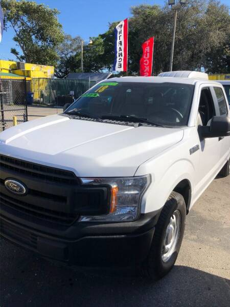 2018 Ford F-150 for sale at H.A. Twins Corp in Miami FL