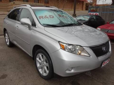 2012 Lexus RX 350 for sale at R & D Motors in Austin TX
