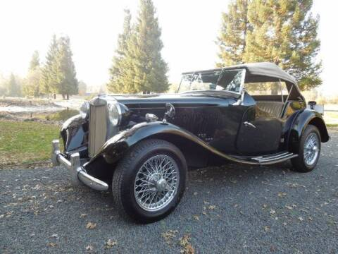 1952 MG TD for sale at Classic Car Deals in Cadillac MI