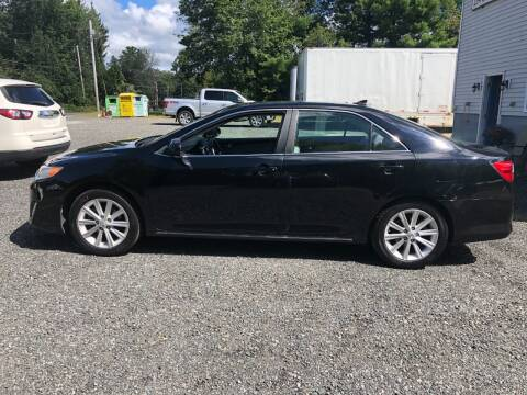 2012 Toyota Camry for sale at Perrys Auto Sales & SVC in Northbridge MA