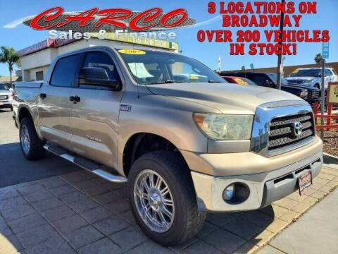 2007 Toyota Tundra for sale at CARCO SALES & FINANCE in Chula Vista CA