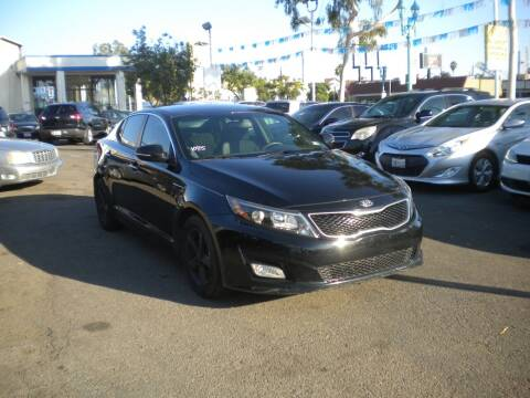 2015 Kia Optima for sale at AUTO SELLERS INC in San Diego CA