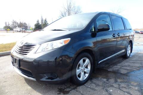 2016 Toyota Sienna for sale at Macomb Automotive Group in New Haven MI