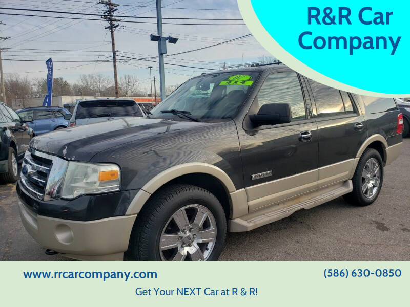 2007 Ford Expedition for sale at R&R Car Company in Mount Clemens MI