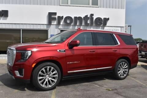 2021 GMC Yukon for sale at Frontier Motors Automotive, Inc. in Winner SD