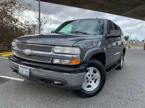 2002 Chevrolet Tahoe for sale at Bay Auto Exchange in San Jose CA