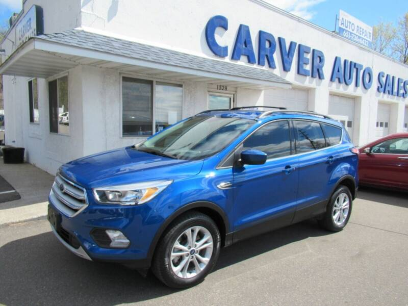 2018 Ford Escape for sale at Carver Auto Sales in Saint Paul MN