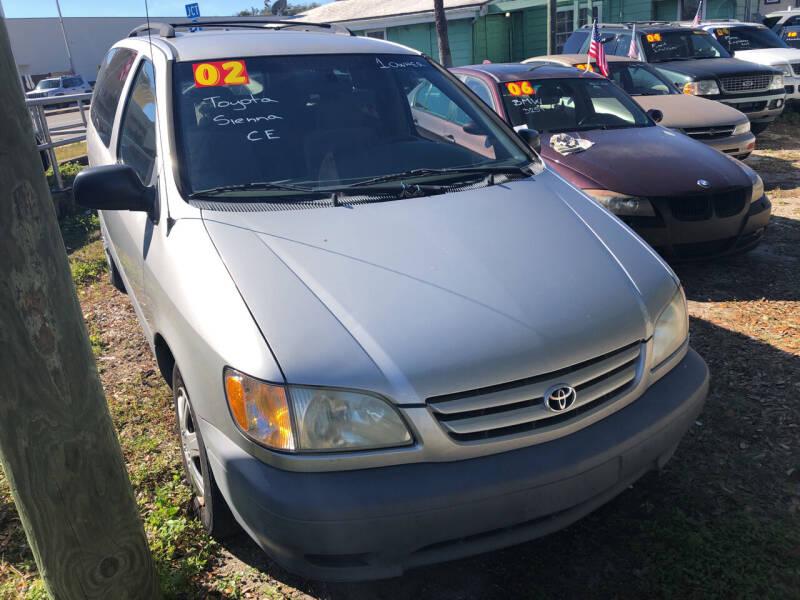 2002 Toyota Sienna for sale at Castagna Auto Sales LLC in Saint Augustine FL