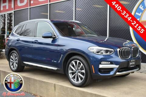 2018 BMW X3 for sale at Alfa Romeo & Fiat of Strongsville in Strongsville OH