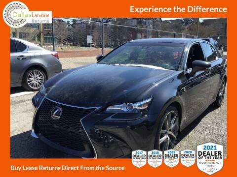 2016 Lexus GS 350 for sale at Dallas Auto Finance in Dallas TX
