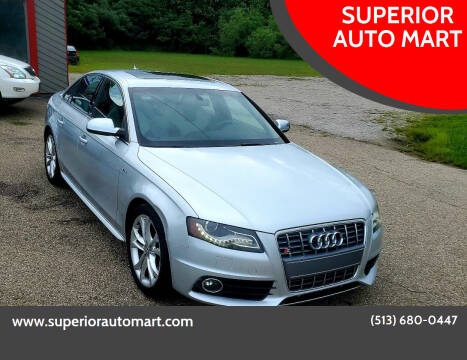 2010 Audi S4 for sale at SUPERIOR AUTO MART in Amelia OH