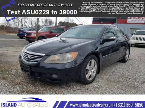 2006 Acura RL for sale at Island Auto Sales in E.Patchogue NY