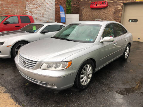 2008 Hyundai Azera for sale at STEEL TOWN PRE OWNED AUTO SALES in Weirton WV