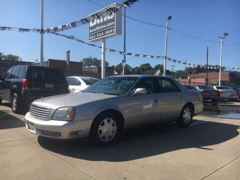 2005 Cadillac DeVille for sale at Dino Auto Sales in Omaha NE