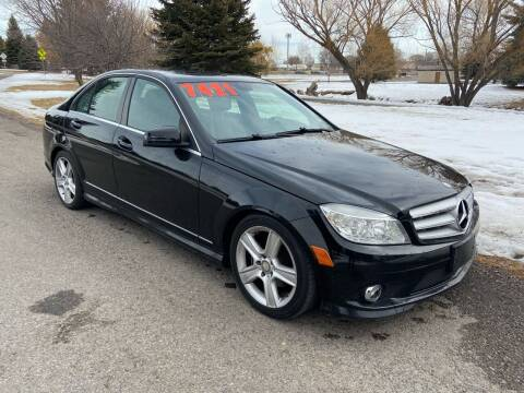 2010 Mercedes-Benz C-Class for sale at BELOW BOOK AUTO SALES in Idaho Falls ID