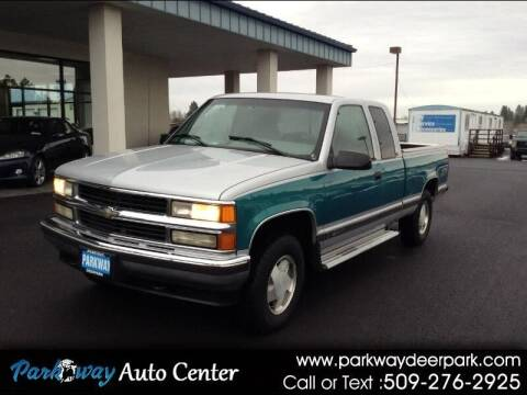 1996 Chevrolet C/K 1500 Series for sale at PARKWAY AUTO CENTER AND RV in Deer Park WA