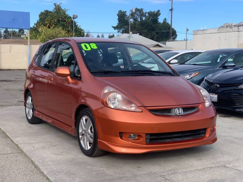 2008 Honda Fit for sale at H & K Auto Sales & Leasing in San Jose CA
