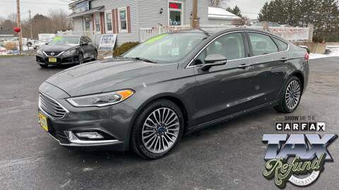 2017 Ford Fusion for sale at RBT Automotive LLC in Perry OH