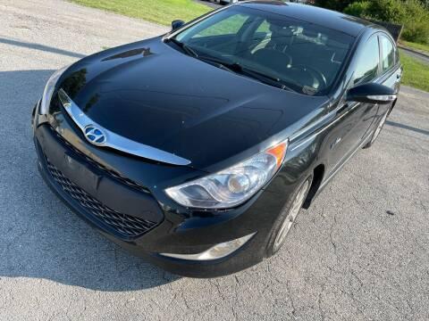 2013 Hyundai Sonata Hybrid for sale at Supreme Auto Gallery LLC in Kansas City MO