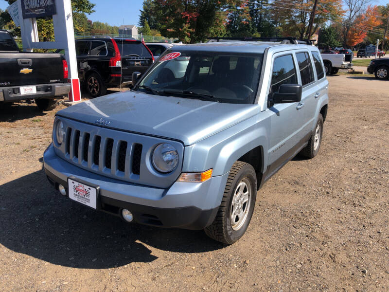 2014 Jeep Patriot for sale at Winner's Circle Auto Sales in Tilton NH