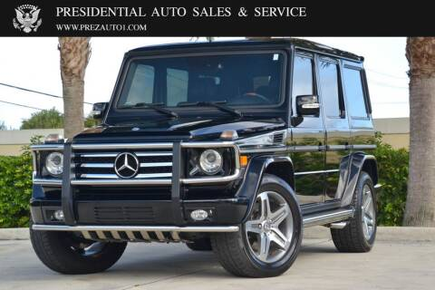 2011 Mercedes-Benz G-Class for sale at Presidential Auto  Sales & Service in Delray Beach FL