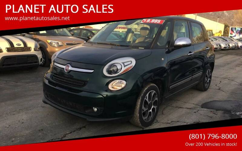 2014 FIAT 500L for sale at PLANET AUTO SALES in Lindon UT