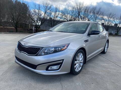 2014 Kia Optima for sale at Triple A's Motors in Greensboro NC