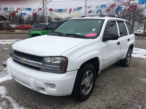 2008 Chevrolet TrailBlazer for sale at Antique Motors in Plymouth IN