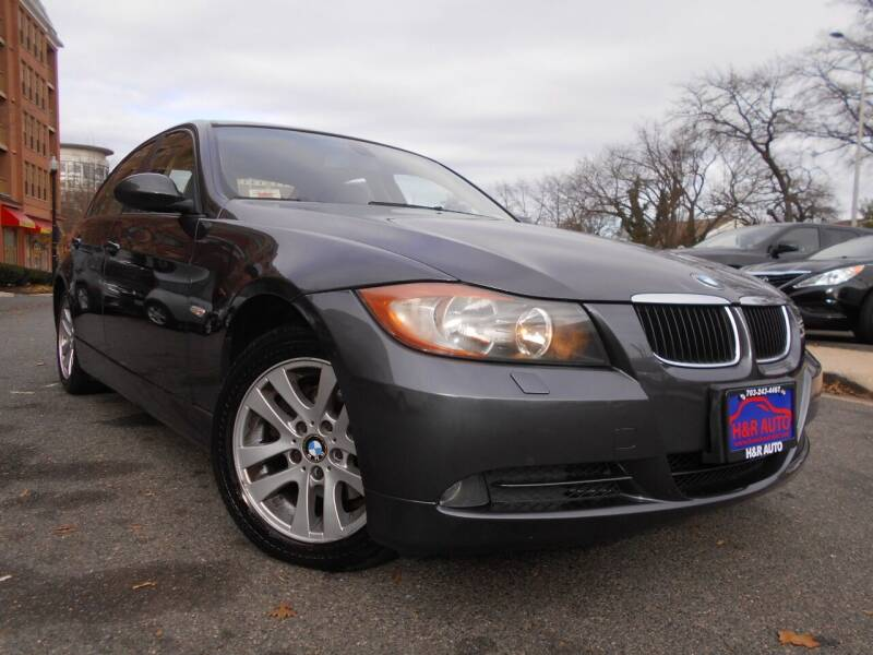 2007 BMW 3 Series for sale at H & R Auto in Arlington VA