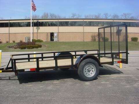"""2021 Reiser 77"""" x 10' Utility Trailer for sale at S. A. Y. Trailers in Loyalhanna PA"""