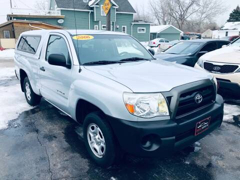 2006 Toyota Tacoma for sale at SHEFFIELD MOTORS INC in Kenosha WI
