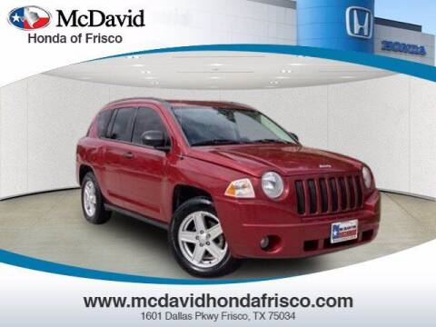 2007 Jeep Compass for sale at DAVID McDAVID HONDA OF IRVING in Irving TX