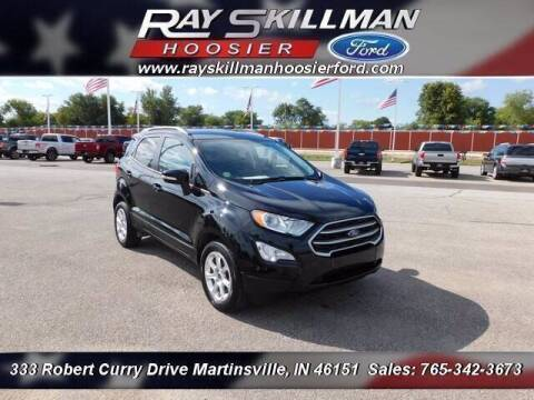 2018 Ford EcoSport for sale at Ray Skillman Hoosier Ford in Martinsville IN