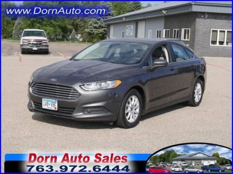 2016 Ford Fusion for sale at Jim Dorn Auto Sales in Delano MN
