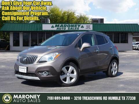 2015 Buick Encore for sale at Maroney Auto Sales in Humble TX