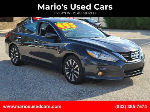 2017 Nissan Altima for sale at Mario's Used Cars - Pasadena Location in Pasadena TX