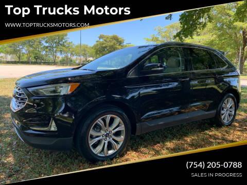2019 Ford Edge for sale at Top Trucks Motors in Pompano Beach FL